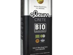 Βιολογικό Oleum Crete 5L can Εξαιρετικό Παρθένο Ελαιόλαδο Αφοι Κυδωνάκη 5L
