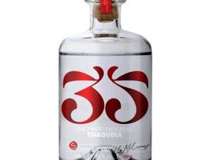 Τσικουδιά 35Ν Μονοποικιλιακή Syrah Cretan Distillery 0,5L