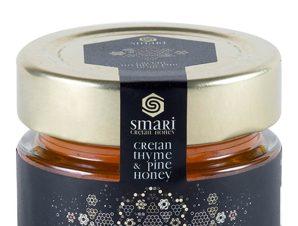"""Μέλι πευκοθύμαρο Κρήτης """"Smari Cretan Honey"""" 70g>"""