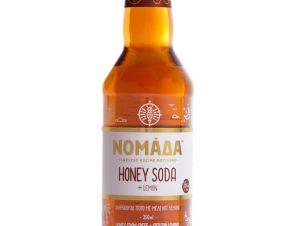 """Ανθρακούχο ποτό με μέλι & λεμόνι, Κρήτης """"Nomada"""" 250ml>"""